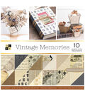 DCWV 12x12 Vintage Memories Stack