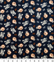 Star Wars Cotton Fabric-BB8 and R2D2, , hi-res