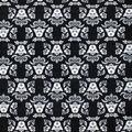 Star Wars Fleece Fabric-Vader & Floral