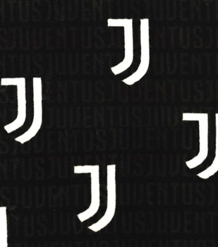 Juventus Football Club Fleece Fabric -Logo