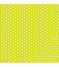 American Crafts Basics Dot Double-Sided Cardstock