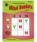 Mind Benders Level 1, Grades PreK-K, Pack of 2