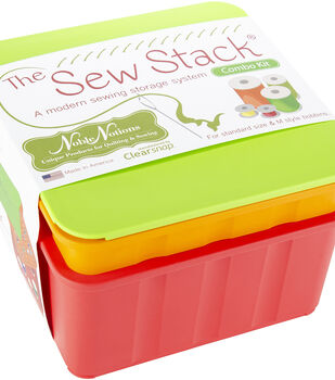 Noble Notions The Sew Stack Combo-1 Bobbin Tray, 1 Thread Tray & Lid