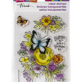Stampendous Perfectly Clear Stamps-Flutters & Flowers