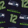 Seattle Seahawks Fleece Fabric -Blue