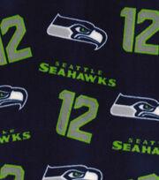 "Seattle Seahawks Fleece Fabric 58""-Blue, , hi-res"