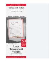 "Strathmore Laser Translucent Vellum 8.5""X11""-50 Sheets, , hi-res"