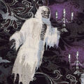 Halloween Cotton Fabric-Skeleton Ghosts