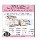 Me & My Big Ideas 88 pk Clear Sticker Labels-Craft Room