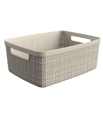 Jute Small Basket-Off White