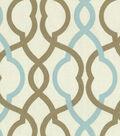 Waverly Upholstery Fabric 55\u0022-Make Waves Latte