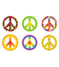 Peace Signs Patterns Classic Accents Variety Pack, 36 Per Pack, 6 Packs