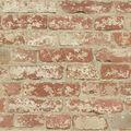 York Wallcoverings Wallpaper-Stuccoed Red Brick