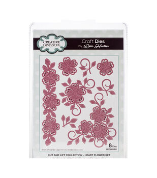 Creative Expressions Cut & Lift Die Collection-Heart Flower