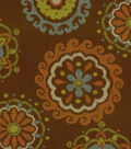 Richloom Studio Lightweight Decor Fabric Arial Chocolate