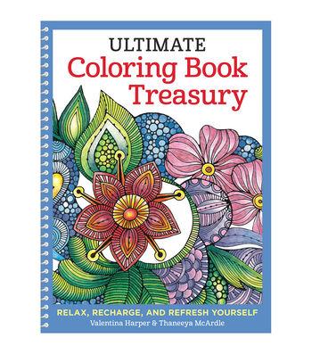 Design Originals Ultimate Coloring Book Treasury
