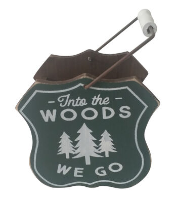Camp Ann Badge Container-Into the Woods We Go