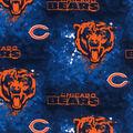Chicago Bears Cotton Fabric -Mascot