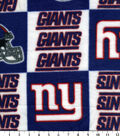 New York Giants Fleece Fabric 58\u0027\u0027-Logo