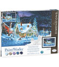 Paintworks Paint by Number Kit-Winter\u0027s Hush