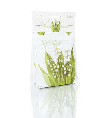 3 Pack Lily Valley Sachet
