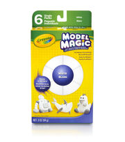 Crayola 6 ct. White Model Magic Single Packs, , hi-res