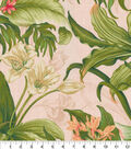 Waverly Upholstery Décor Fabric 9\u0022x9\u0022 Swatch-Wailea Coast Hibiscus
