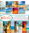 Ella & Viv Collection Kit 12\u0022X12\u0022-Just Beachy