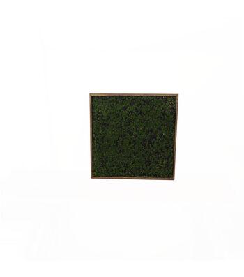 Bloom Room Artisan 36'' Moss in Rectangular Wooden Frame