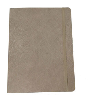 Park Lane Textured Softcover Journal-Tan