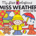 Colorforms Classic Miss Weather Re-Stickable Sticker Set
