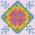 Diamond Dotz Diamond Embroidery Kit 4.75\u0027\u0027X4.75\u0027\u0027-Patchwork Mandala 2