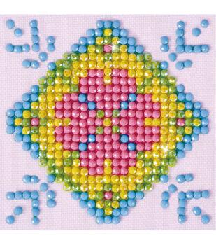 Diamond Dotz Diamond Embroidery Kit 4.75''X4.75''-Patchwork Mandala 2