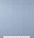 Doodles Juvenile Apparel Fabric 57\u0027\u0027-Blue Tiny Triangles
