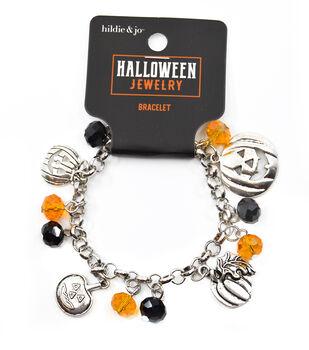 hildie & jo Halloween Jewelry Charms & Crystal Beads Bracelet