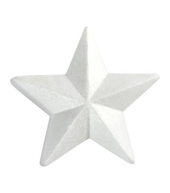 FloraCraft SmoothFoam 8'' Styrofoam Star-White