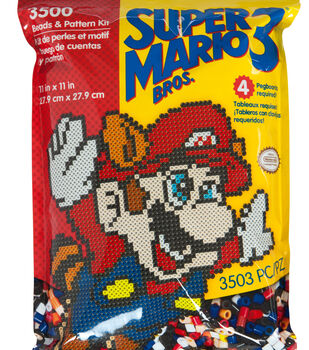 Perler Super Mario Bros. 3 3500 Count Pattern Bag