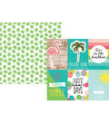 Simple Stories Hello Summer Double-sided Vertical Elements Cardstock