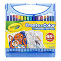 Crayola Create & Color With Washable Markers 65/Pkg