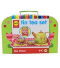 Tin Tea Time Set