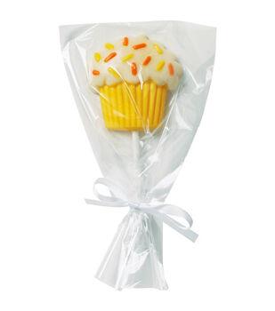 Wilton Drawstring Lollipop Bags 15/Pkg-Clear