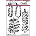 Dina Wakley Media Cling Stamps 6\u0027\u0027X9\u0027\u0027-Scribbled Branches
