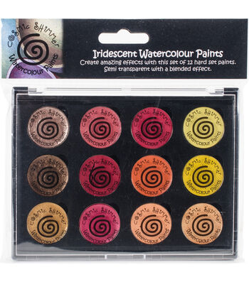 Cosmic Shimmer Watercolour Paint Pallet Set-Iridescent Autumn Sunrise