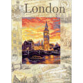RIOLIS Stamped Cross Stitch Kit-Cities of the World-London