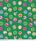 Girl Scouts Cotton Fabric 43\u0022-Junior Badge