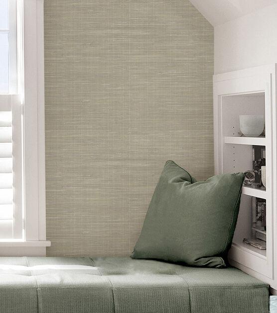 Wallpops Nuwallpaper Peel Stick Wallpaper Grasscloth Joann