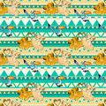 Disney The Lion King Cotton Fabric-Simba and Nala