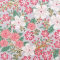 Blizzard Fleece Fabric-Wild Child Floral