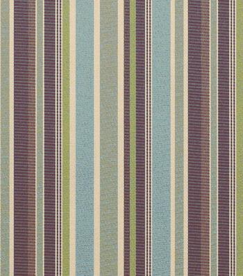 """Sunbrella Outdoor Stripe Fabric 54""""-Brannon Whisper"""