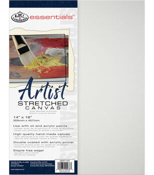Royal & Langnickel Essentials 14''x18'' Artist Stretched Canvas